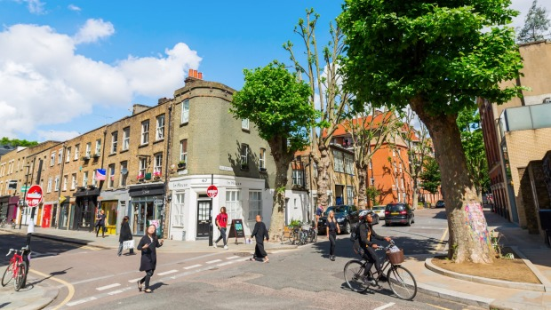 East End of london